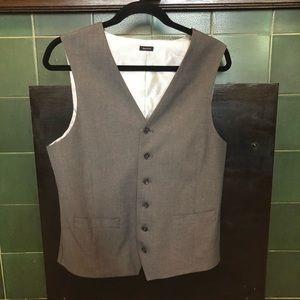 Men's Gray Vest